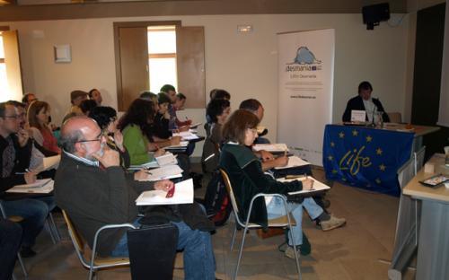 1er Seminario Técnico Desmania 17 abril. Roberto Rubio, coordinador